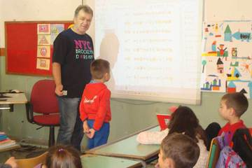Kolovos Method application in the first class of primary school