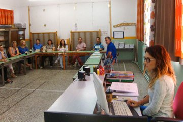 6th Primary School of Naoussa-Experiential Workshop; Reading Difficulties, Identification and confrontation